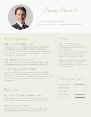 105 Free Resume Templates for Word Downloadable - Freesumes - Nice Resume Template