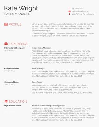 105 Free Resume Templates for Word Downloadable - Freesumes - layout for a resume