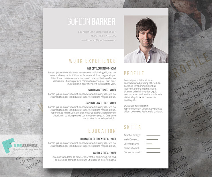 Pay What You Want Resume Template - Smart Portfolio - Freesumes