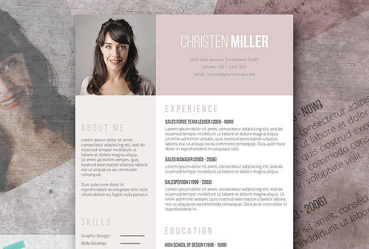 Download 35 Free Creative Resume Cv Templates Xdesigns Free Creative Resume Templates