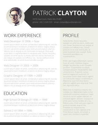 100+ Free Resume Templates for Word Downloadable - Freesumes - resume templates with photo