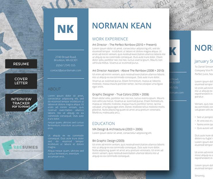 The Consummate Professional Premium Resume Template for management