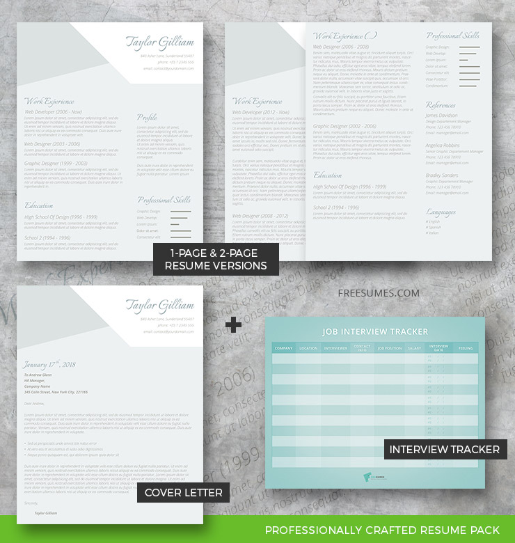 The Intelligent Applicant Complete Resume Pack - Freesumes