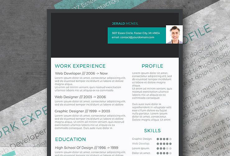 Free Modern Resume Templates - modern resume