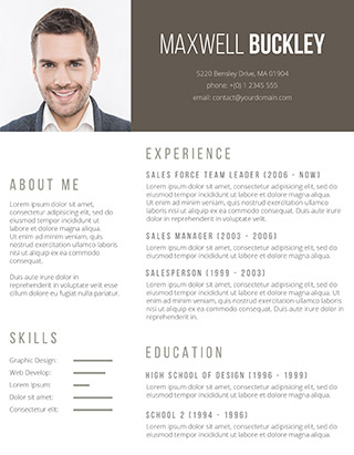 105 Free Resume Templates for Word Downloadable - Freesumes - Resume Template Word Free