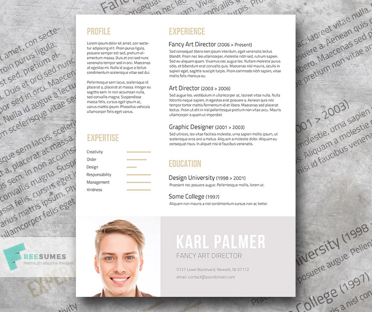 The Unconventional Your Creative Resume Template Freebie - Freesumes