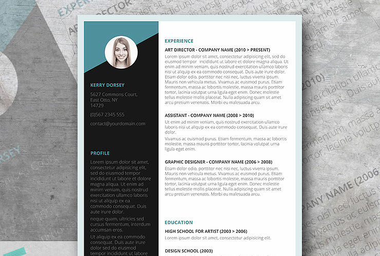 modern resume templet 2018 free - Funfpandroid - Modern Resume Templates