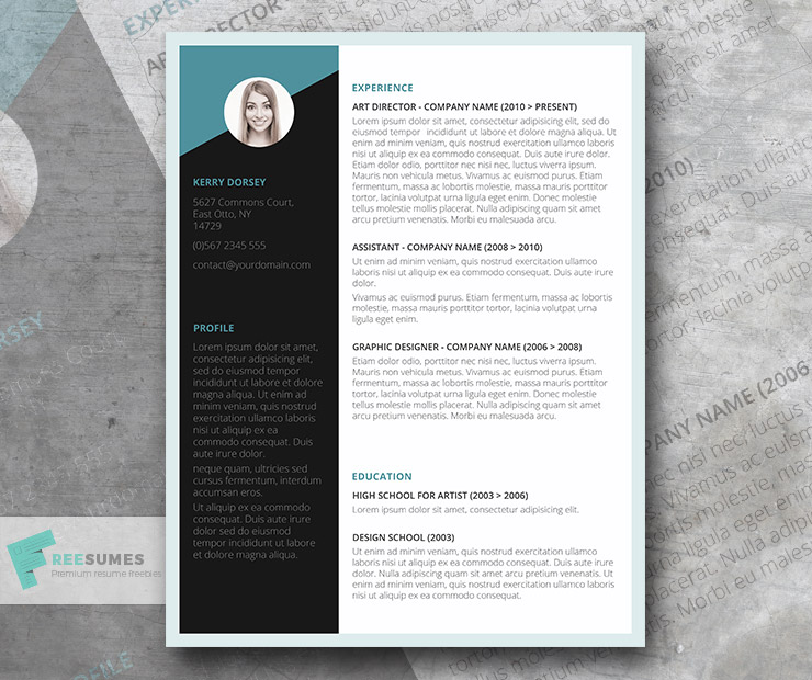 Free Job-Winning Resume Template Instant Download - Freesumes - free job resume templates