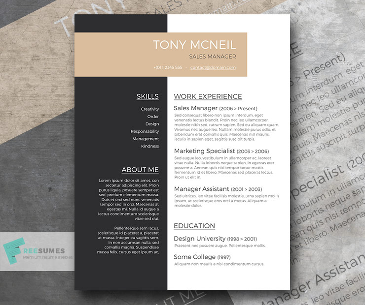 Free Professional Resume Sample Smart Jobseeker - Freesumes - resume design sample