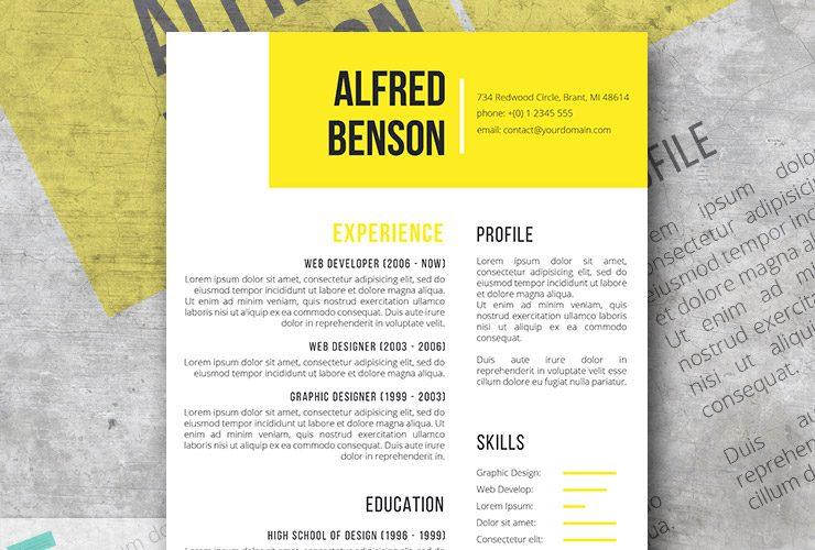 Free Creative Resume Templates - creative resume