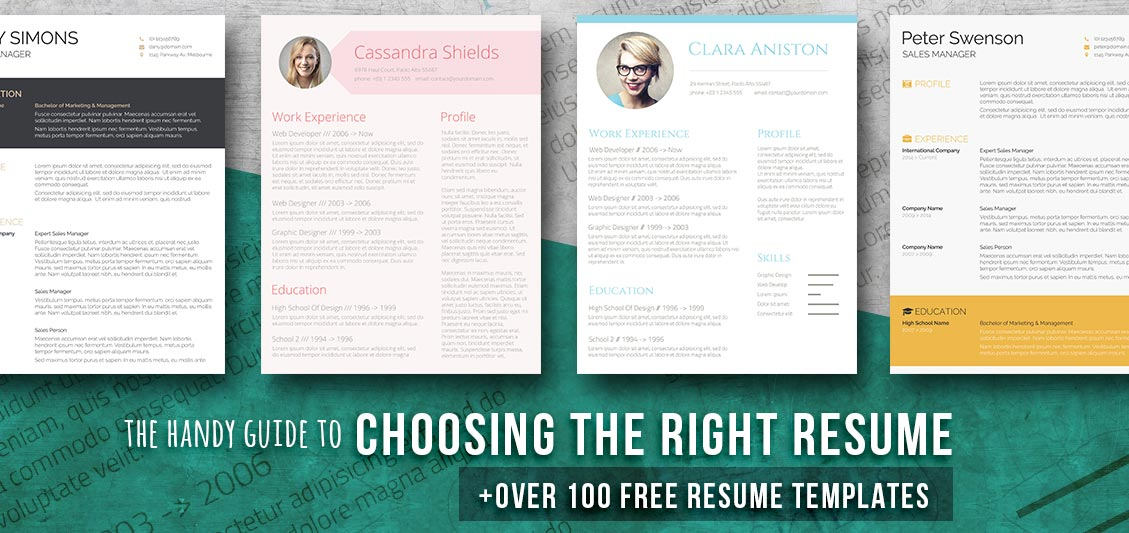 105 Free Resume Templates for Word Downloadable - Freesumes - creative resume template word