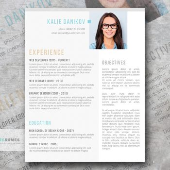 Modern Resume Templates 35+ Free Examples - Freesumes