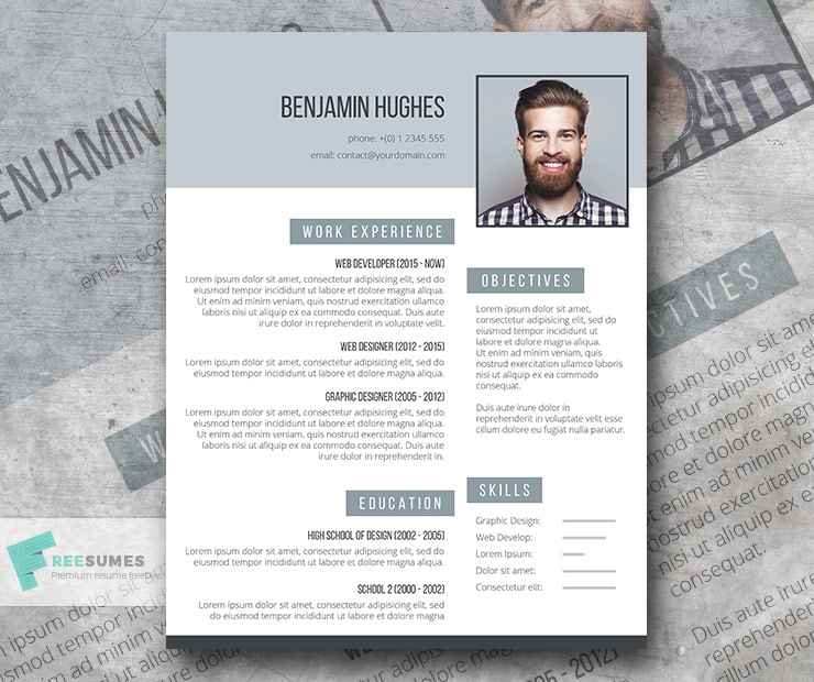 On Point, a Free Resume Template to Help You Stand Out - Freesumes