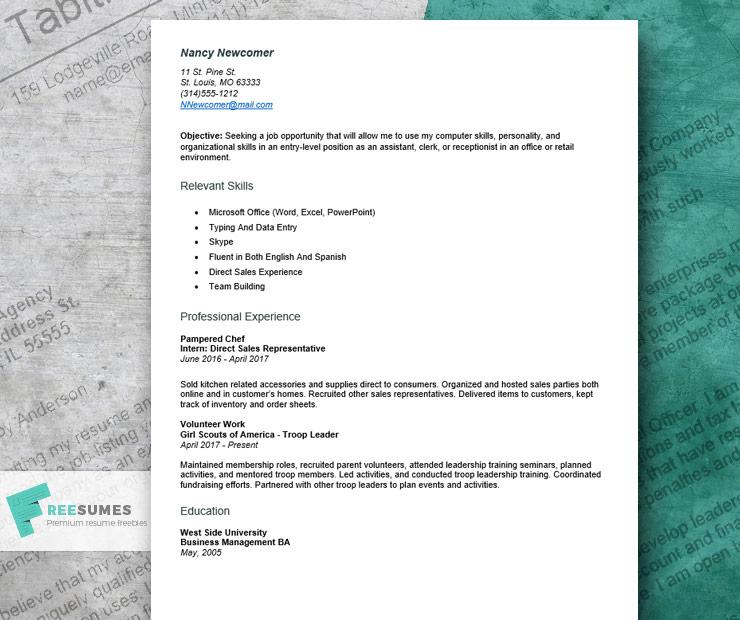 resume samples craft store employee