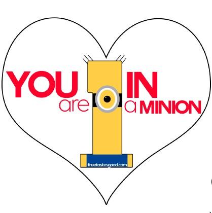 Valentine\u0027s Minions Party Treats and Printable Free Tastes Good!