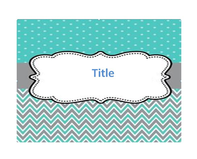 35 Free Beautiful Binder Cover Templates - Free Template Downloads