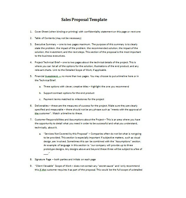 36 Free Business Proposal Templates  Proposal Letter Samples \u2013 Free