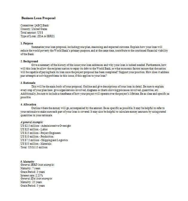 business proposal template free - Militarybralicious - business proposals templates