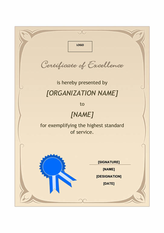 word award template