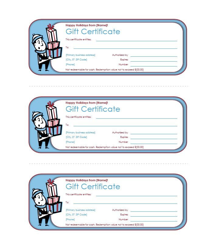 41 Free Gift Certificate Templates \u2013 Free Template Downloads - gift certifcate template