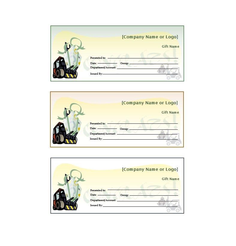 41 Free Gift Certificate Templates \u2013 Free Template Downloads