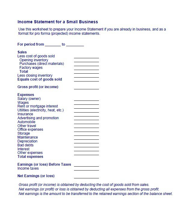 27 Free Income Statement Examples  Templates (Single/Multi step