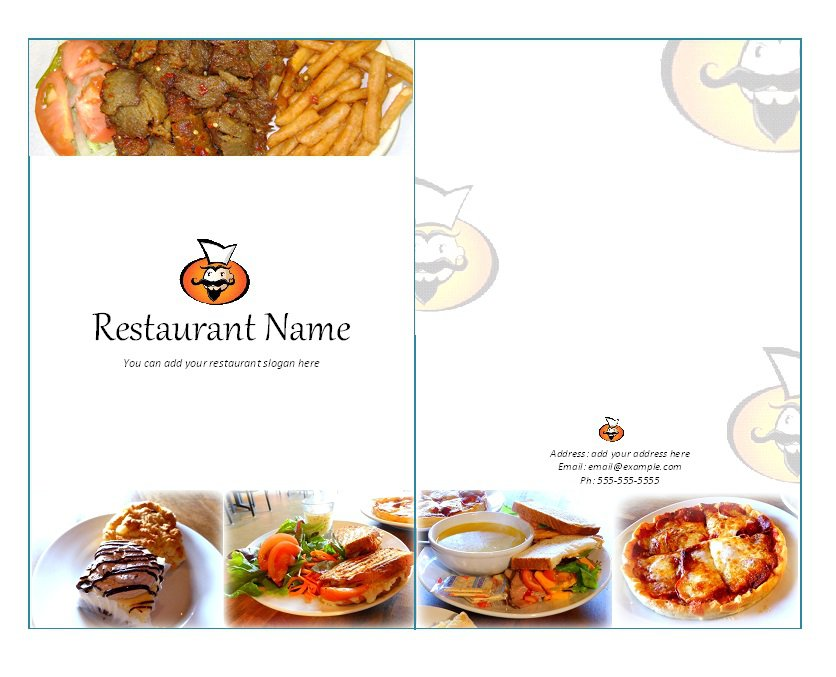 how to make a restaurant menu on microsoft word node2003cvresume