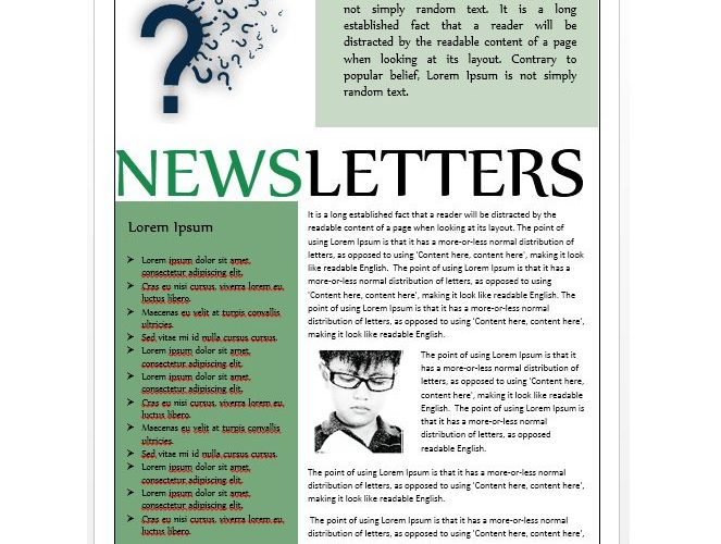 Work Newsletter Examples \u2013 Free Template Downloads - free newsletter layout templates