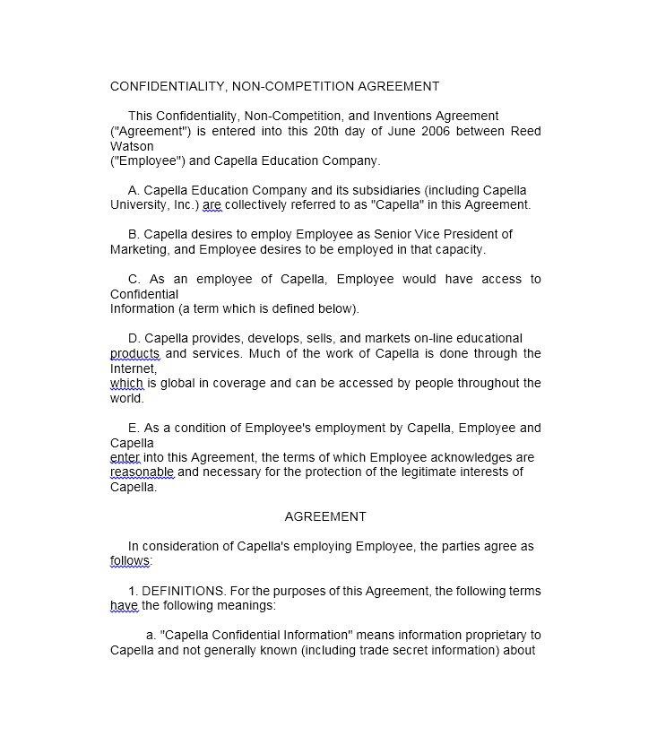 Sample Marketing Agreement Template - Eliolera.com