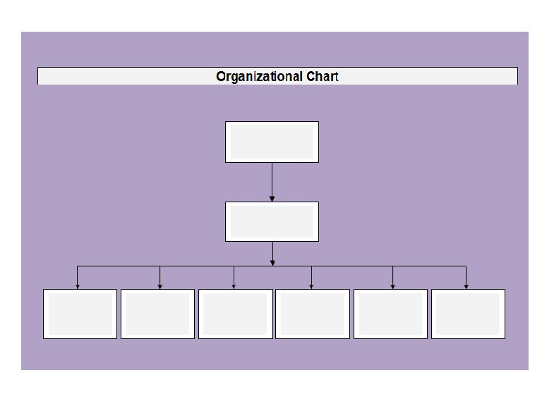 chain of command chart template