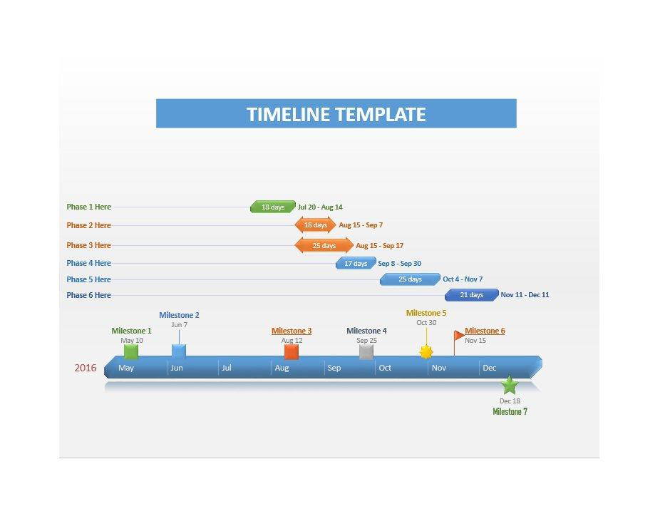 80+ Free Timeline Templates - Horizontal Bubble Chart Timeline - timeline format for word
