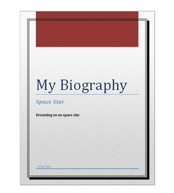 45 Free Biography Templates  Examples (Personal, Professional