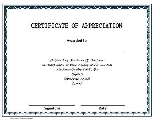 Certificate Templates \u2013 Free Template Downloads