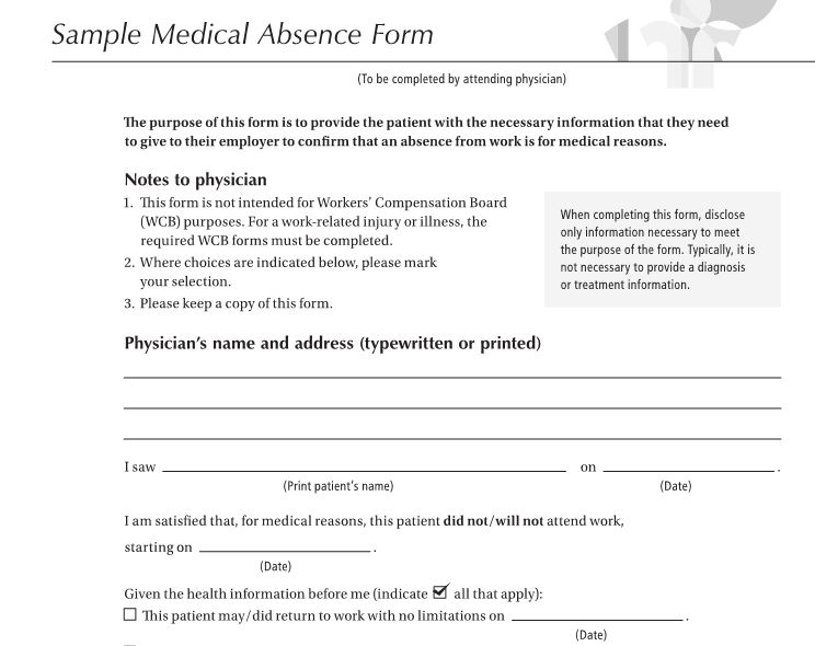 27 Free Doctor Note \/ Excuse Templates u2013 Free Template Downloads - medical note