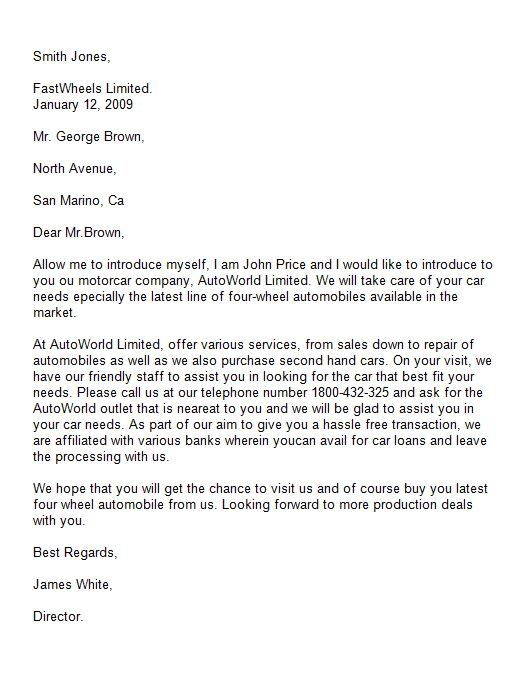 sample cover letter introductions