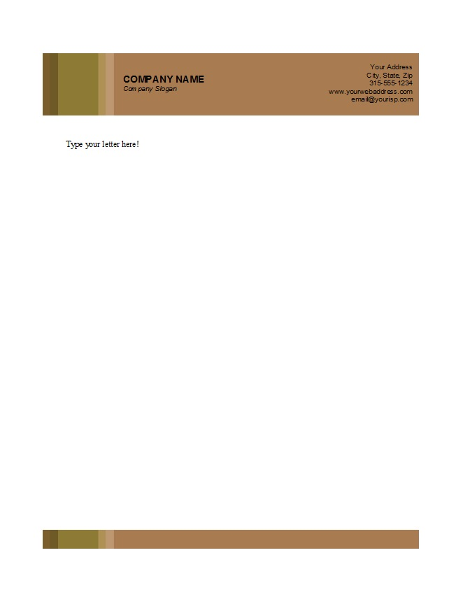 46 Free Letterhead Templates  Examples - Free Template Downloads