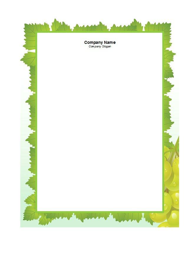 46 Free Letterhead Templates  Examples \u2013 Free Template Downloads - free letterhead templates for word