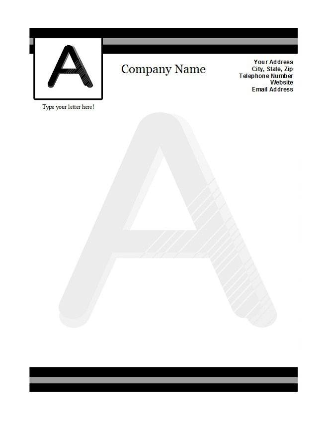46 Free Letterhead Templates  Examples \u2013 Free Template Downloads