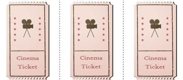 41 Free Editable Raffle \ Movie Ticket Templates u2013 Free Template - movie ticket template for word