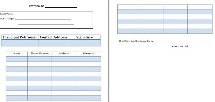 30 Free Petition Templates (How To Write Petition Guide) - Free