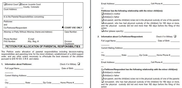 Free Template Downloads \u2013 Free Microsoft Word, Excel and Publisher - free petition templates examples