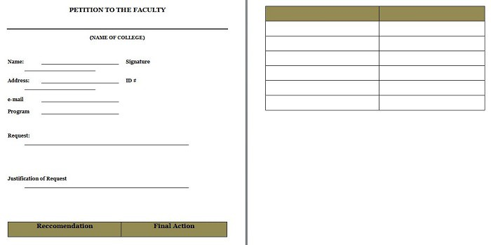 30 Free Petition Templates (How To Write Petition Guide) \u2013 Free