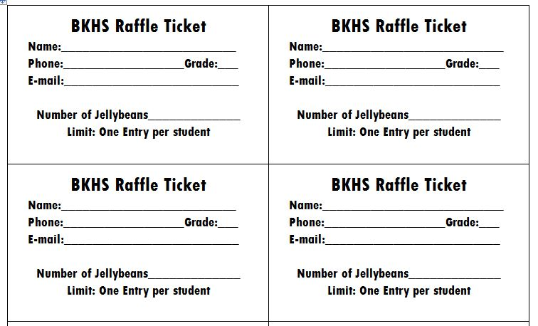 Free Raffle Ticket Templates. Examples Of Customer Service Experience