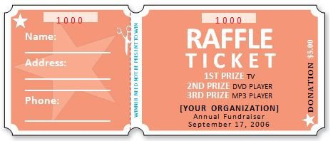 Free Printable Raffle Ticket Template Download. Creative Templates