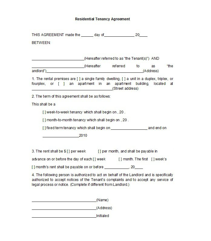 42 Free Rental Application Forms \ Lease Agreement Templates - lease and rental agreement difference