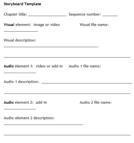 sample script storyboard testingspintel - sample script storyboard
