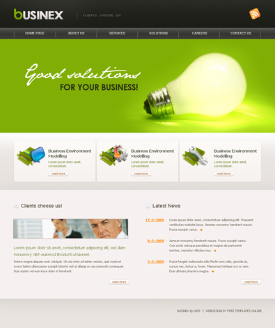 Free CSS Templates Free Templates Online