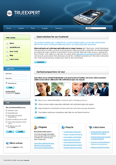 Free Review Website Template Free Templates Online