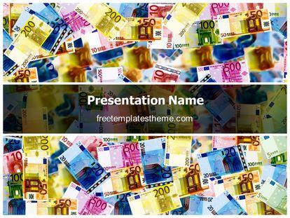Free Money Background PowerPoint Template freetemplatestheme