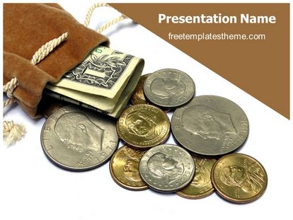 Free Saving Money PowerPoint Template freetemplatestheme - money background for powerpoint